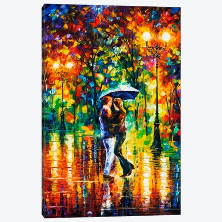 Rainy Dance II Canvas Print #LEA66} by Leonid Afremov Canvas Art