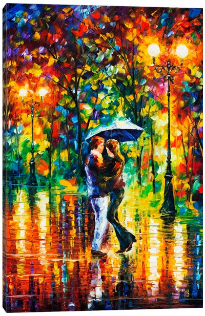 Rainy Dance II Canvas Art Print
