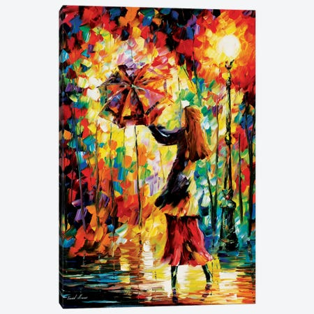 Rainy Mood Canvas Print #LEA67} by Leonid Afremov Canvas Art