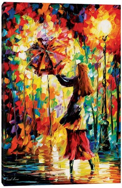 Rainy Mood Canvas Print #LEA67
