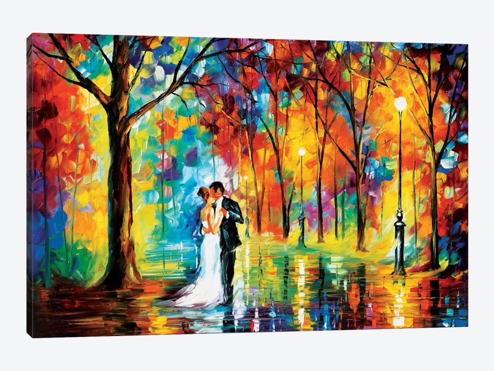 Rainy Wedding by Leonid Afremov 1-piece Canvas Artwork