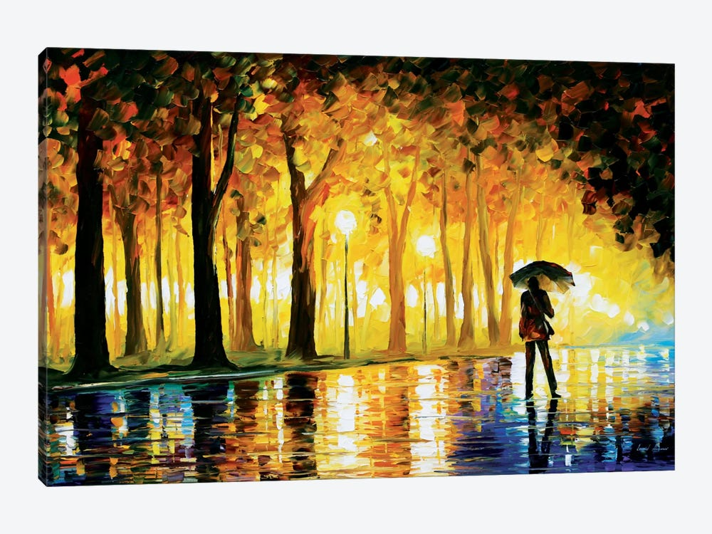 Bewitched Park by Leonid Afremov 1-piece Art Print