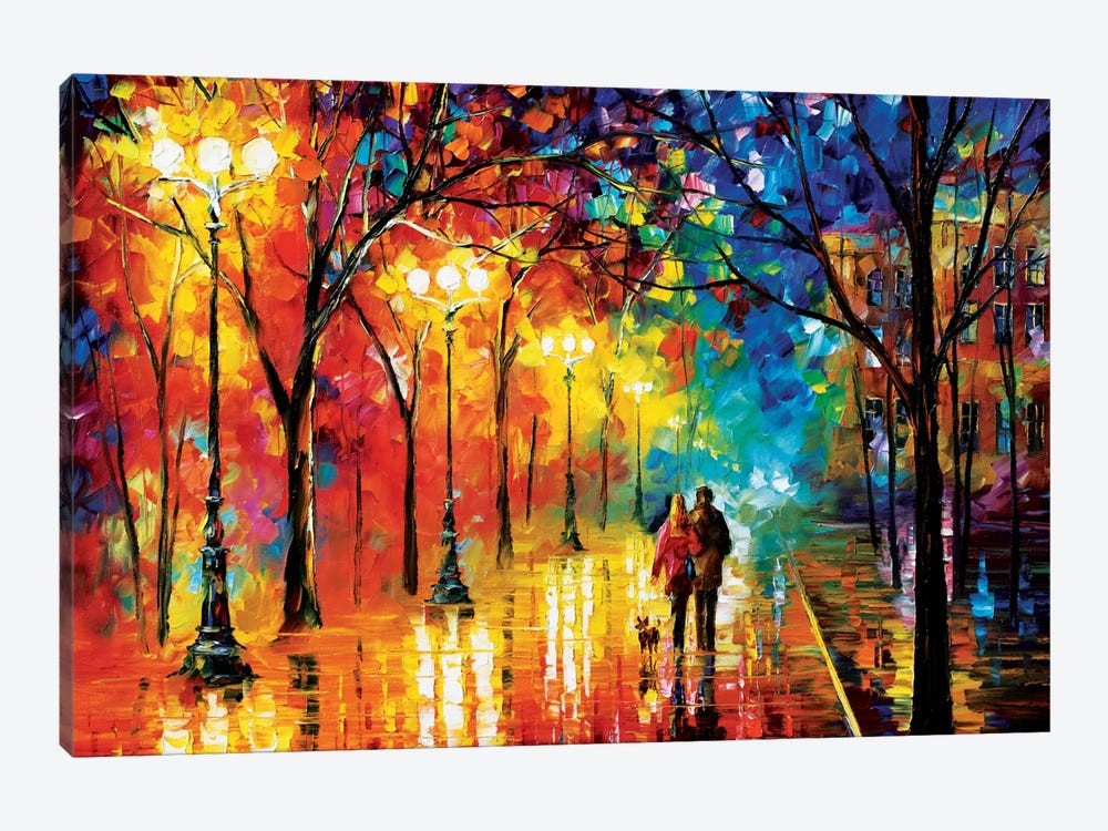 Romantic Evening by Leonid Afremov 1-piece Canvas Wall Art