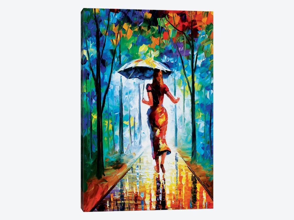 Running Towards Love II by Leonid Afremov 1-piece Canvas Artwork