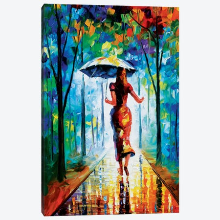 Running Towards Love II Canvas Print #LEA72} by Leonid Afremov Canvas Artwork