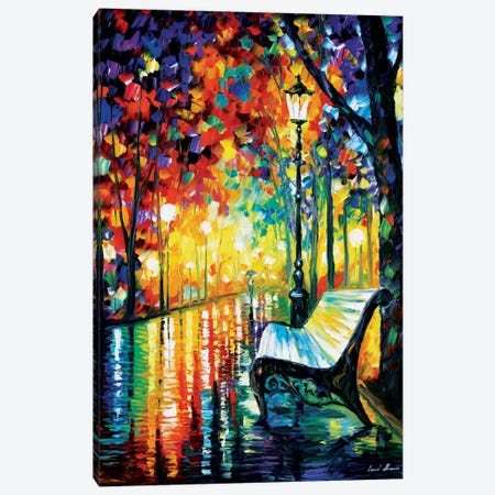 She Left... Canvas Print #LEA75} by Leonid Afremov Canvas Art Print