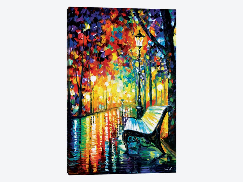 She Left... by Leonid Afremov 1-piece Canvas Print