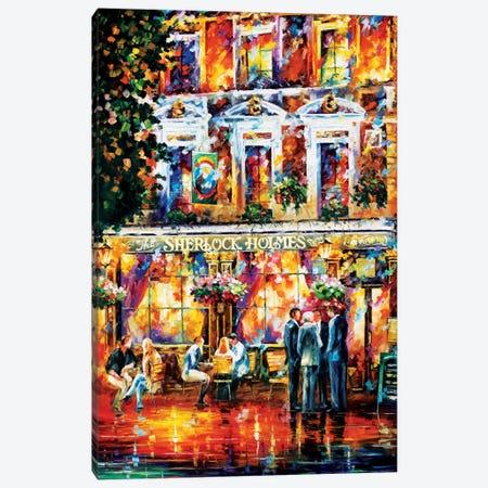 Sherlock Holmes Canvas Print #LEA76} by Leonid Afremov Canvas Art Print