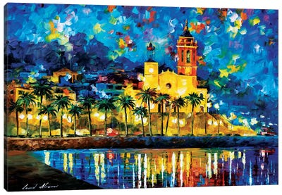 Spain, Sitges Canvas Art Print
