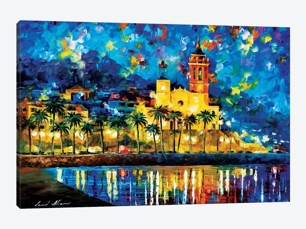 Spain, Sitges by Leonid Afremov 1-piece Art Print