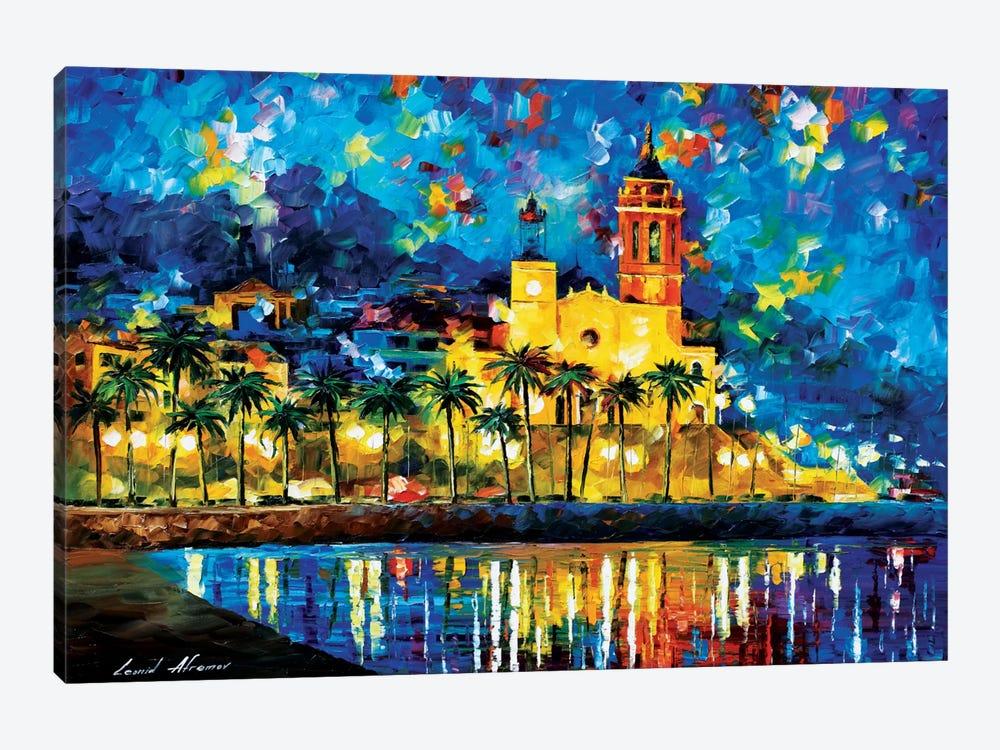 Spain, Sitges by Leonid Afremov 1-piece Art Print