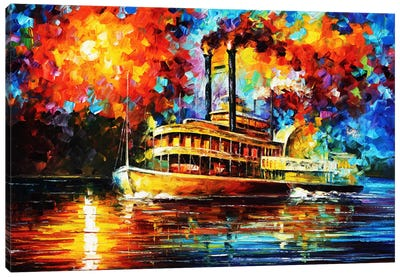 Steamboat Canvas Print #LEA79