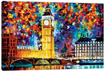 Big Ben - London 2012 Canvas Art Print