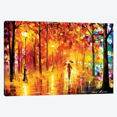 Signals Of Love Canvas Print #LEA81} by Leonid Afremov Canvas Art Print
