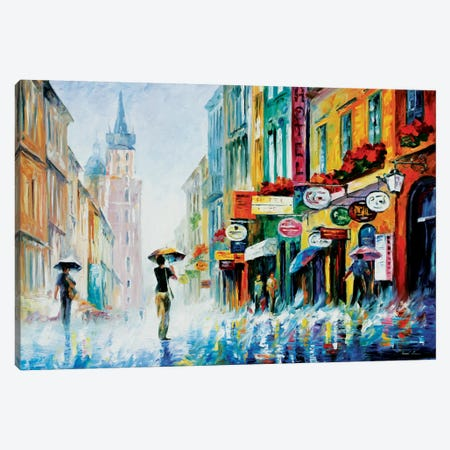 Summer Downpour Canvas Print #LEA83} by Leonid Afremov Canvas Print
