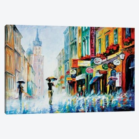 Summer Downpour Canvas Print #LEA83} by Leonid Afremov Canvas Print