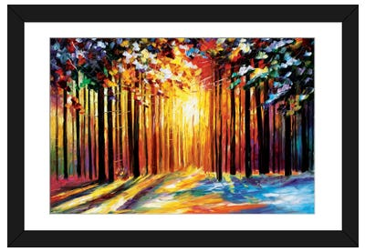 Sun Of January Framed Art Print