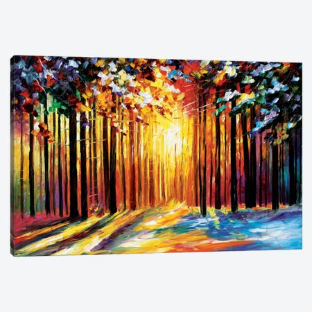 Sun Of January Canvas Print #LEA84} by Leonid Afremov Canvas Wall Art