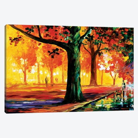 The Light Of The Night Canvas Print #LEA88} by Leonid Afremov Canvas Art Print