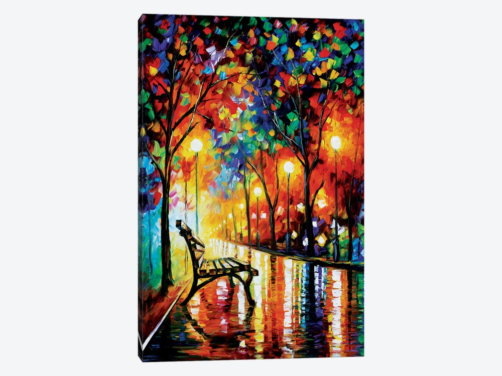 The Loneliness Of Autumn by Leonid Afremov 1-piece Canvas Wall Art