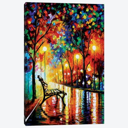 The Loneliness Of Autumn Canvas Print #LEA89} by Leonid Afremov Canvas Art Print