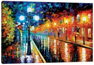 Blue Lights I Canvas Print #LEA8