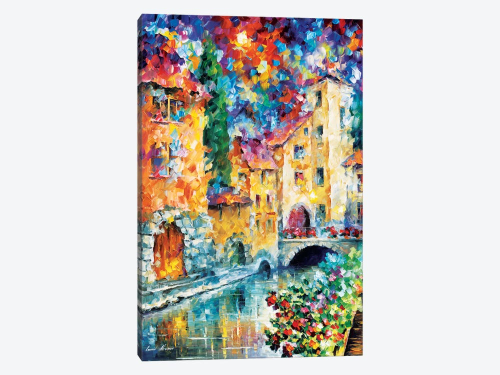 The Window To The Past by Leonid Afremov 1-piece Canvas Artwork