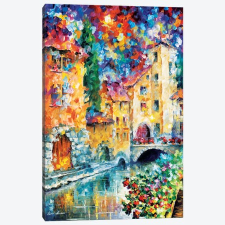 The Window To The Past Canvas Print #LEA90} by Leonid Afremov Canvas Artwork