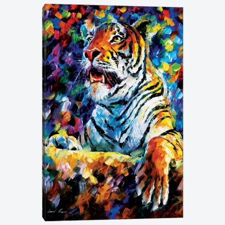 Tiger Canvas Print #LEA91} by Leonid Afremov Canvas Art