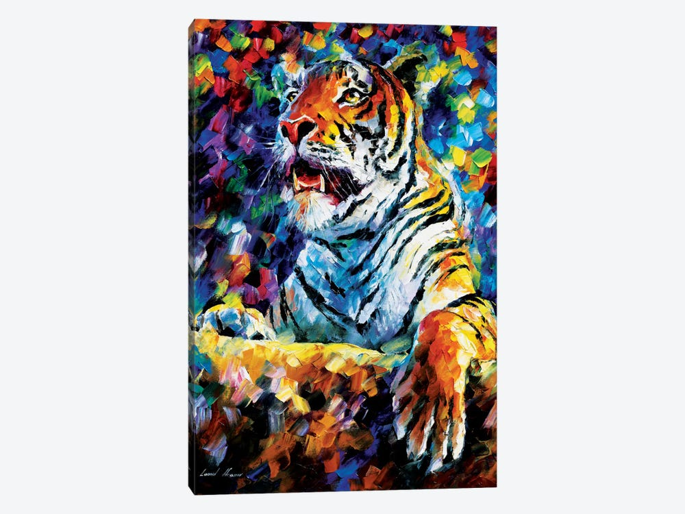 Tiger by Leonid Afremov 1-piece Canvas Art Print