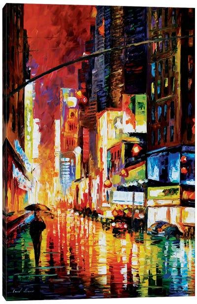 Times Square Canvas Print #LEA92