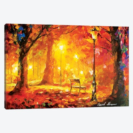 Twinkle Of Passion Canvas Print #LEA93} by Leonid Afremov Canvas Art