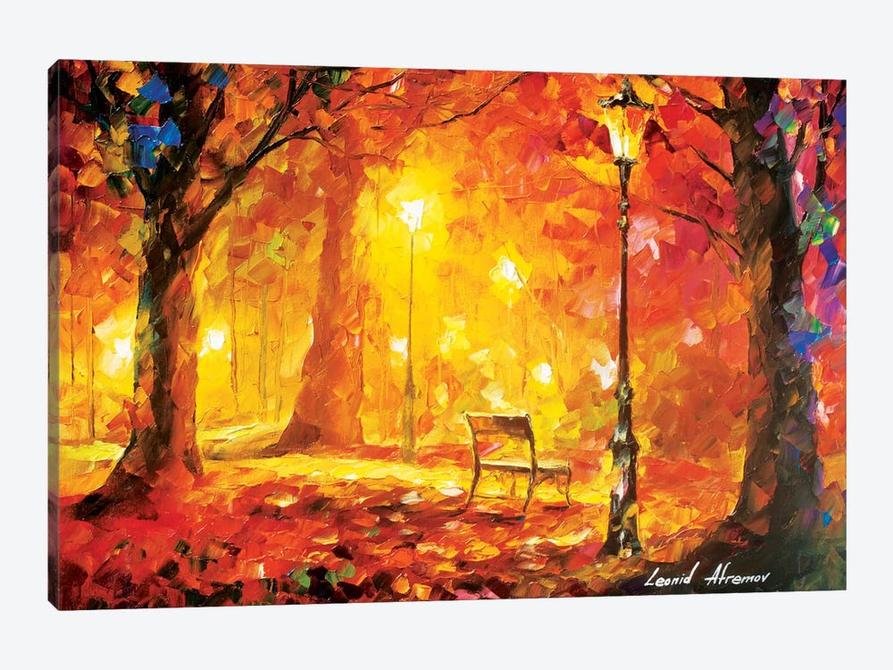Twinkle Of Passion by Leonid Afremov 1-piece Canvas Art Print