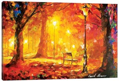 Twinkle Of Passion Canvas Art Print