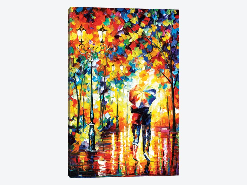 Under One Umbrella by Leonid Afremov 1-piece Canvas Print
