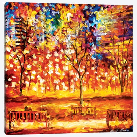 View From The Park Canvas Print #LEA96} by Leonid Afremov Canvas Print