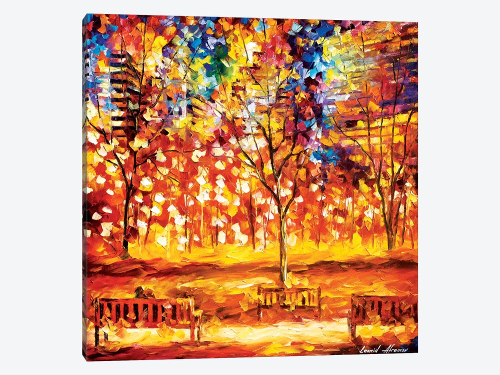 View From The Park by Leonid Afremov 1-piece Canvas Art