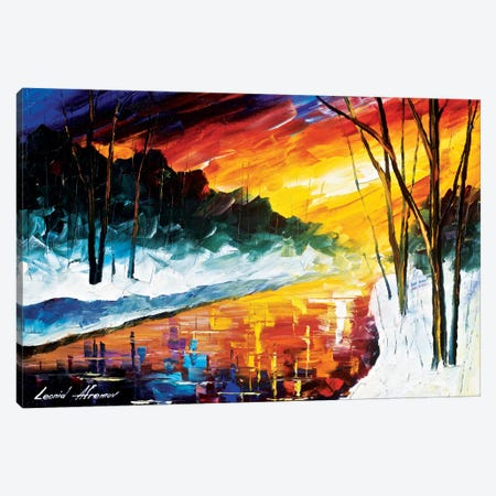 Winter Emotion Canvas Print #LEA98} by Leonid Afremov Canvas Artwork