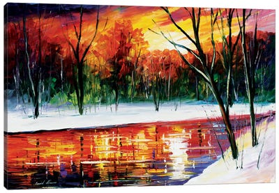 Winter Spirit Canvas Art Print