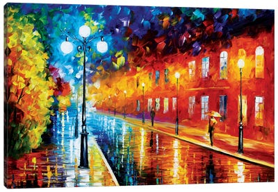 Blue Lights II Canvas Print #LEA9