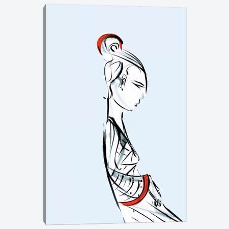 Geisha Canvas Print #LEC11} by Lewis Campbell Canvas Wall Art