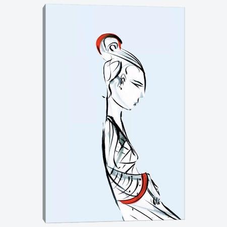 Geisha Canvas Print #LEC11} by Lewis Campbell Canvas Wall Art