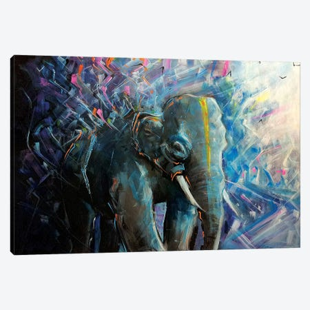 Maximus Prime Canvas Print #LEC21} by Lewis Campbell Art Print
