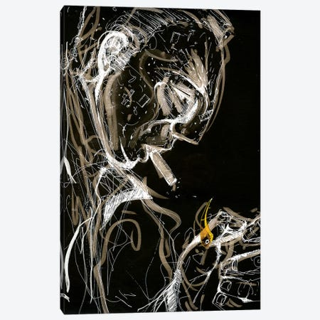 Night Watcher Canvas Print #LEC23} by Lewis Campbell Art Print