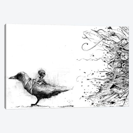 Sleepy Chaos Canvas Print #LEC29} by Lewis Campbell Canvas Print