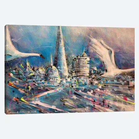 Split Second Canvas Print #LEC31} by Lewis Campbell Canvas Art