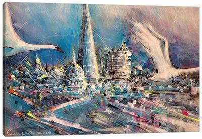 Split Second Canvas Art Print