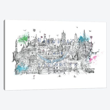 The Angel Of London Canvas Print #LEC34} by Lewis Campbell Art Print