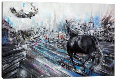 The Approach Canvas Art Print