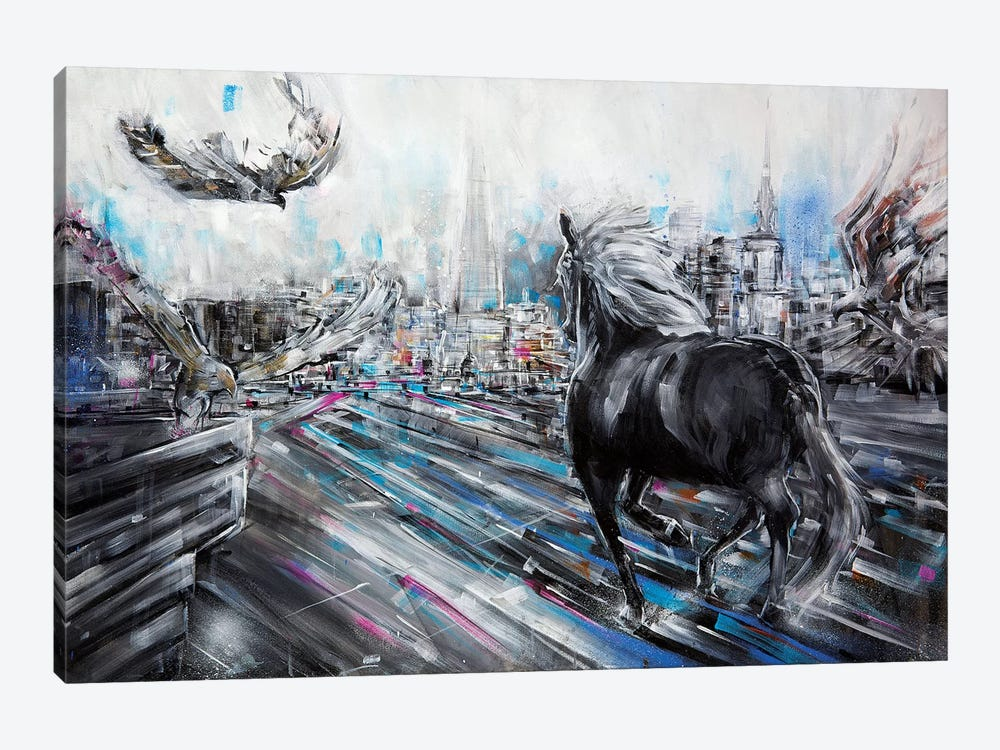 The Approach by Lewis Campbell 1-piece Canvas Wall Art